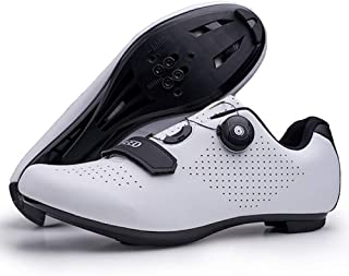 Dual Quick Lace Road Bike Cycling Shoes Locking Carbon Fiber Sole Shoe
