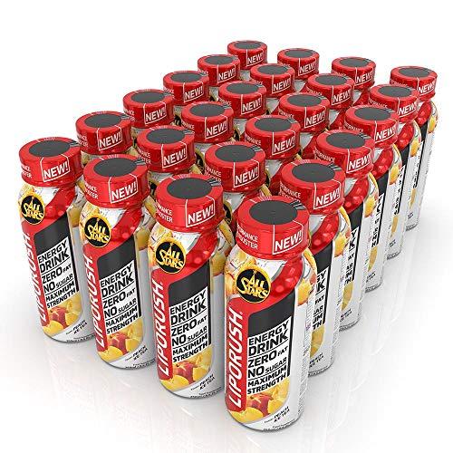 All Stars Liporush Energy-Drink, Peach Ice Tea, 24er Pack (24 x 250ml)