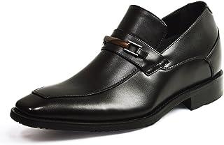 [ジーノ] ビジネスシューズ メンズ ヒールアップ 7cm シークレットシューズ AIRクッション搭載 防滑 抗菌 消臭 紳士靴 靴