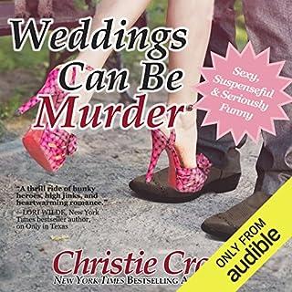Weddings Can Be Murder audiobook cover art