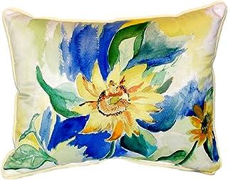 "Betsy Drake SN200 Betsy's Sunflower Pillow, 11"" x14"""