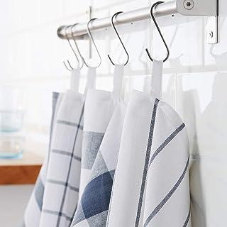 comprar comparacion IKEA Elly juego de 4 paños de cocina blanco/azul