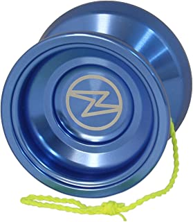 Yoyo King Proteus Professional Responsive Trick Aluminum Yoyo with Ball Bearing Axle for Kids with Extra String (Blue)