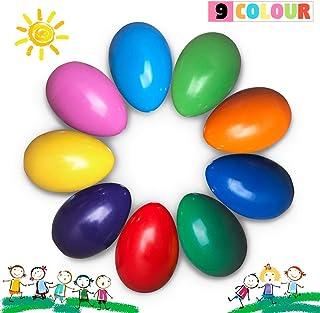 أقلام تلوين للأطفال من ريتشف شمع غير سام قابل للغسل في الغسالة للأطفال - أقلام تلوين بألوان متعددة، ألوان لا تحتوي على ألو...