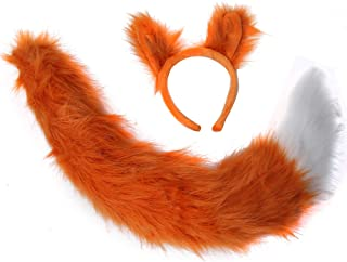 Oversized Fox Ears & Tail Costume Set