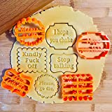 Cookie Cutters Shapes Baking Set, Biscuit Cutter Set, 4-Piece Cookie Cutter Set, Cutter Shapes Set, Cookie Cutter for Baking and Food Supplement Tools Accessories Crafts for Kitchen Baking (4PC/Set)