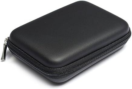 Multifonctions etui Sac Housse Pochette Case rigide pour disque durs externes portables 2,5 pouces anti-choc l'eau - Noir