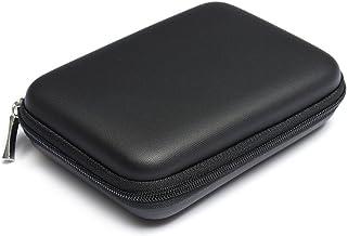 Snner Multifonctions Etui Sac Housse Pochette Case Rigide pour Disque durs externes Portables 2,5 Pouces Anti-Choc l'eau - Noir