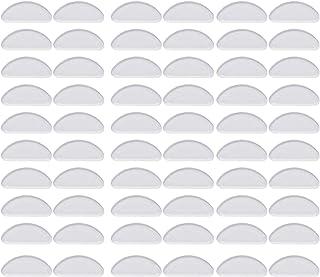 Noir MWOOT 96 Pairs Coussinets de Nez Adh/ésif Plaquettes de Nez en Antid/érapant pour Lunettes Lunettes de Soleil Spectacles