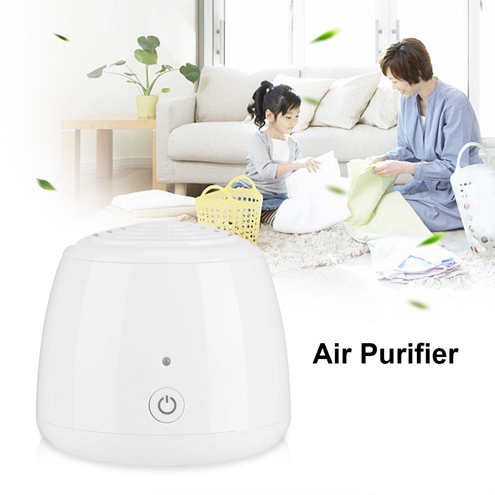 Ionizador de aire, mini anión purificador de aire, limpiador de ...