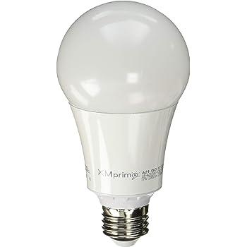 17W ( 150 Watt Equivalent ) 4 Pack A21 LED Light Bulb, 2000 Lumens 3000K Soft / Warm White, E26 Medium Screw Base, UL listed, XMprimo