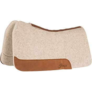 NRS 5 Star Equine 5 Star Equine 7//8 Natural 32 x 32 Performer Saddle Pad 5 STAR EQUINE PRODUCTS SUPPLIES INC