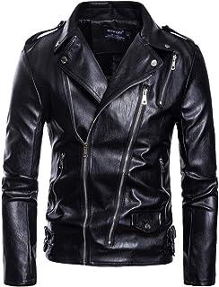 Kstare Men Steampunk Leather Jacket Winter Black Renaissance Punk Side Zipper Victorian Gothic Trenchcoat Windbreaker