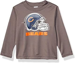 NFL Long Sleeve Grey Logo Tee Shirt Long Sleeve Grey Logo TEE Shirt