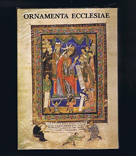 Ornamenta Ecclesiae in 3 Bänden - Ausstellungskataloge: Kunst und Künstler der Romanik