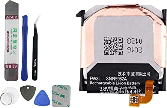 E-YIIVIIL SNN5962A FW3L Replacement Battery Compatible with Moto 360 2nd-Gen 2015 Smart Watch 46mm with Toolkit