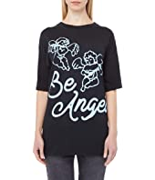 Be Angel Oversize Puff Print Tee