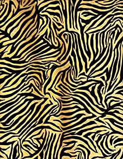 1 Yard Tropical Travelogue from Wilmington Prints Cotton Quilt Fabric 85543 199W Jungle Fever Yellow