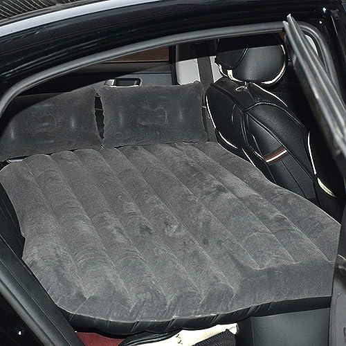 JUZZQ Flocage épaississement de la Voiture Matelas pneumatique SUV Voiture Universel lit d'air Fournitures de Voiture lit Gonflable,A