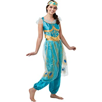 MSSJ Mujeres Adultas Chica Anime Aladdin Princesa Jasmine Cosplay ...