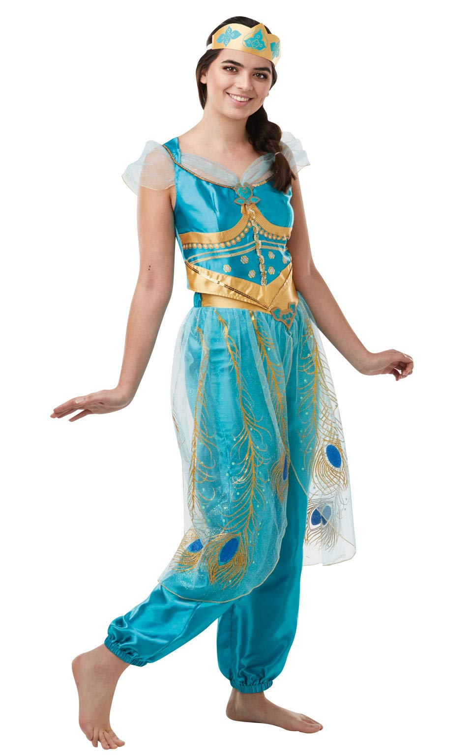 Rubies - Disfraz oficial de Aladdin de Disney Live Action, jazmín ...