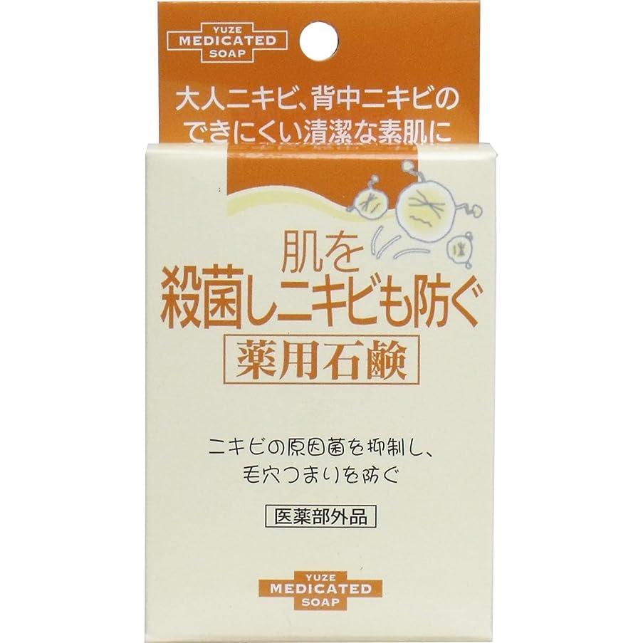 珍味しわに勝るユゼ 肌を殺菌しニキビも防ぐ薬用石鹸 6セット