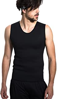 Pangsy Market Body Shaper Hot Sweat Workout Tank Top Slimming Neoprene Vest for Weight Loss Tummy Fat Burner Size L by Lueat