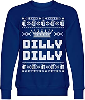 Dilly Dilly Light Beer Xmas Sweater: Unisex Triblend Crewneck Sweatshirt