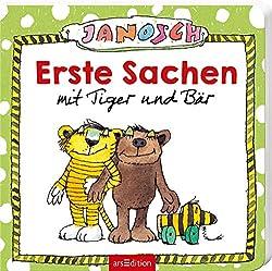 Erste Sachen mit Tiger und Bär