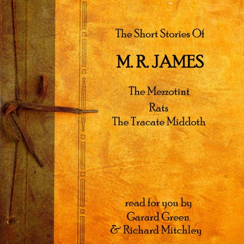 MR James audiobook cover art