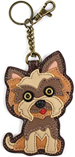 Yorkshire Terrier 's Gift Collection | Yorkie Theme Handbag/Keyfob/Wallet (Yorkie Keyfob)