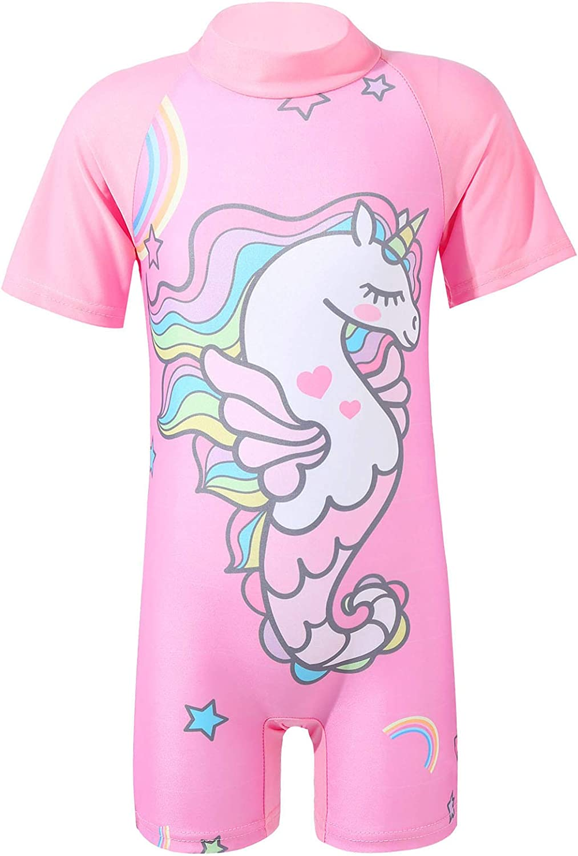 Choomomo Kid free shipping Shipping included Girls Shortsleeve Rash Swimsuit Shirts Summer Guard
