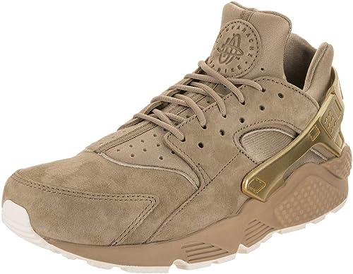 Nike Aire Huarache Run PRM Color Caqui MTLC la Moneda de oro de Vela Running 8,5 de EE.UU. Hombre Caqui MTLC la Moneda de oro de Vela 7.5 Reino Unido