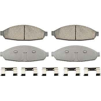 Disc Brake Pad Set-ThermoQuiet Disc Brake Pad Rear Wagner QC932