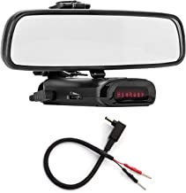 $42 Get Radar Mount Mirror Mount Bracket + Mirror Wire Power Cord for K40 (3001110)