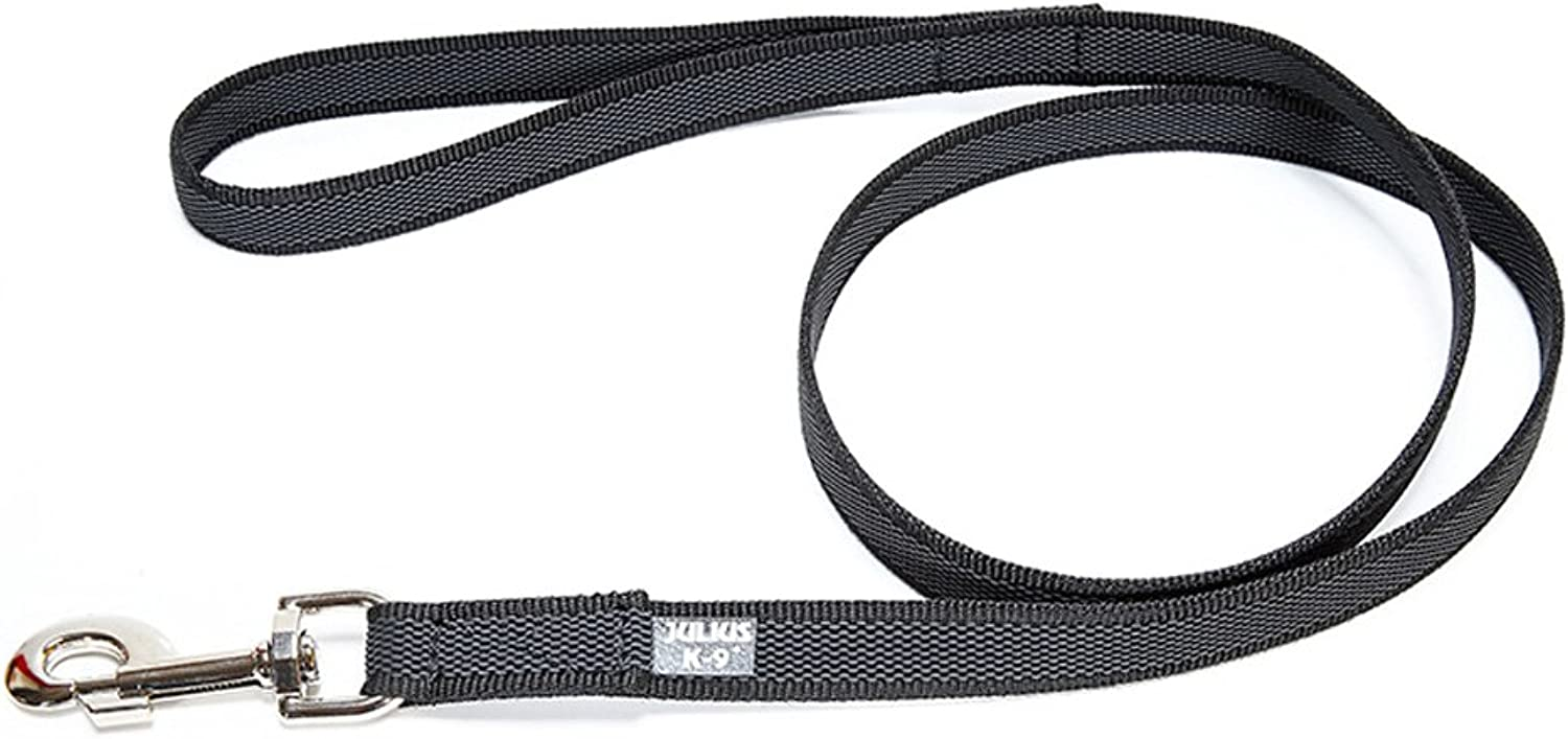 Dog Lead Traction Rope Small Medium and Large Chain Vulcanized for Rope Multi Function Imported Pet Supplies (color   Black, Size   S)