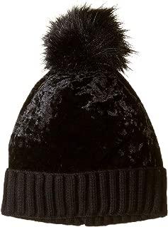 Women's Crushed Velvet Cuff Hat