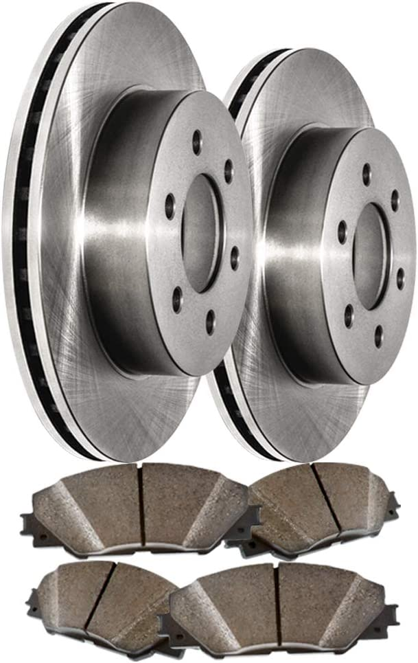 Front OE Spec Quiet Technology Rotors Premium Max Now on sale 64% OFF Ceramic Pads and f