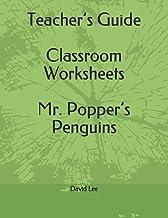 Teacher's Guide Classroom Worksheets Mr. Popper's Penguins