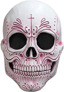 Ghoulish Productions Máscara de látex Mexican Catrina , Catrina Mexicana , Disfraz día de Muertos