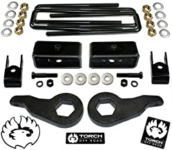 """TORCH 3"""" Front 2"""" Rear LIFT Kit with Shock Extenders For 1999-2007 Chevy Silverado GMC Sierra 4X4 4WD 6 LUG"""