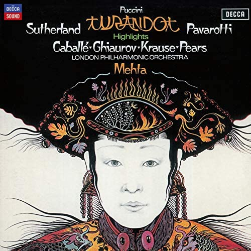 Dame Joan Sutherland, Luciano Pavarotti, Montserrat Caballé, Nicolai Ghiaurov, London Philharmonic Orchestra & Zubin Mehta