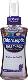Chloraseptic Sore Throat Spray, Grape Flavor, 6 fl oz (177ml)