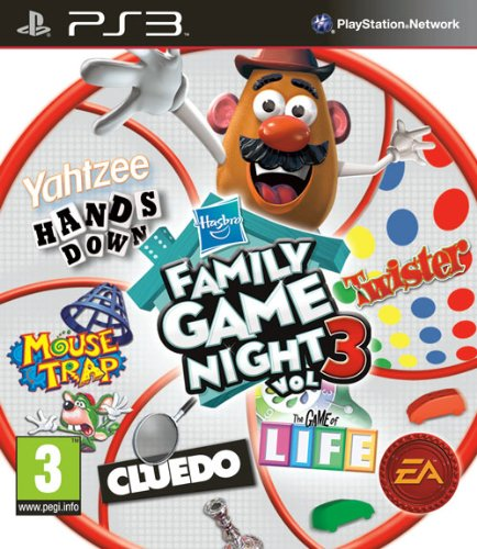 Hasbro Family Game Night 3 (Playstation 3) [Edizione: Regno Unito]