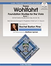 O2659X - Foundation Studies for the Viola - Book 1: 60 First Position Studies (from Op. 45, 54, 74) - Book & DVD