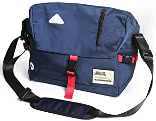 LZRDZSWYXGS Oxford Cloth Coloration Matching Shoulder Bag Men's Trend Messenger Bag Female Messenger Bag Dead Fly Bag Outside Riding Bag Reflective Strip Suitable for outings/Hiking/Schools