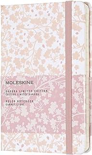 モレスキン 2019年版さくら限定ノートブック 横罫(6mm幅) ハードカバー ポケットサイズ ホワイト LESU02MM710