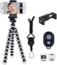 DAISEN Octopus Camera Holder and Phone Tripod for iPhone/Universal Smartphone, White (4326573160)