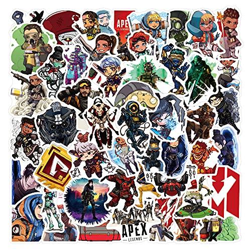 DSSK 50 Piezas Nueva Personalidad Juego de Dibujos Animados Pegatinas de Graffiti Impermeable Vinilo Maleta portátil Scooter Casco Taza de Agua Pegatinas