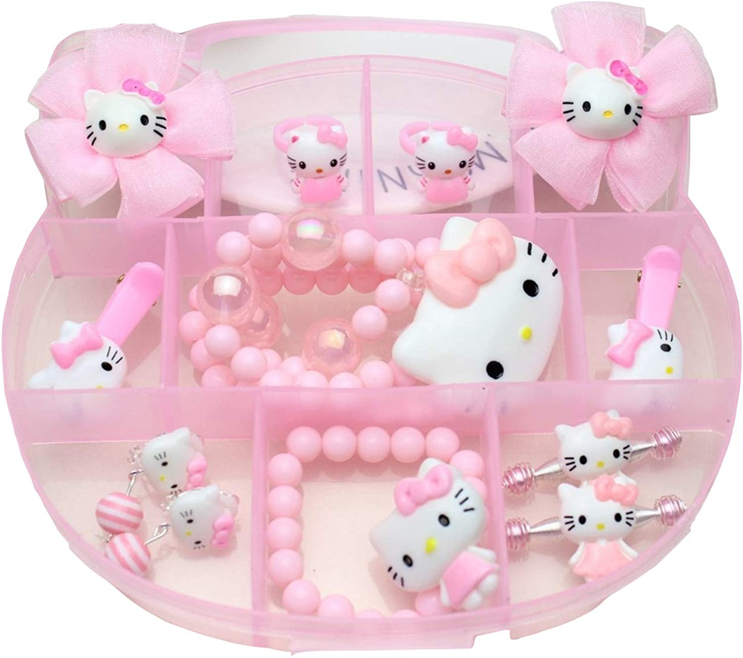High order Hello Kitty Jewelry Set 12 Pieces Pink shop Jewelr